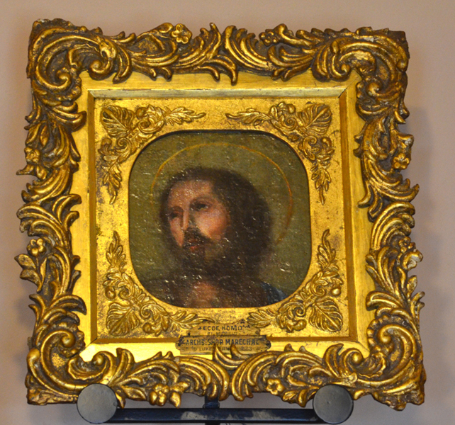 Painting of Face of Jesus