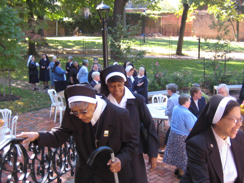 Over 75 IHM and OSP Sisters attended blessing
