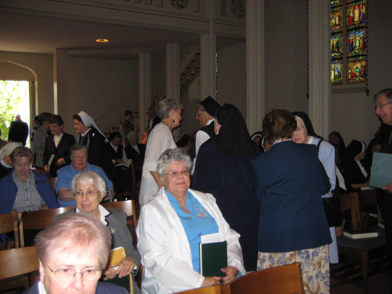 Sisters in the Historic Seminary Chapel