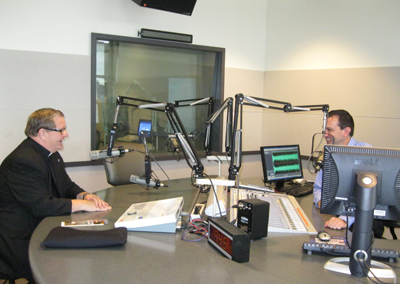 Father Kemper Interviewed on CBS Radio
