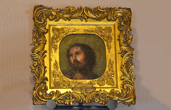 Head of Christ painting once owned by Mother Seton