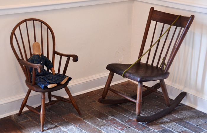 Chairs in the Mother Seton House