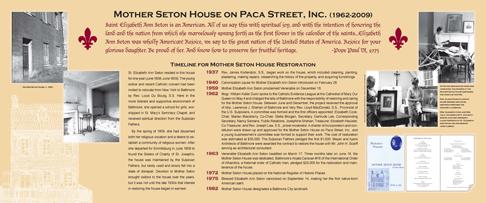 Seton House Panel 1
