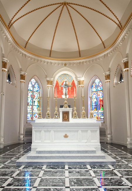Altar in the Historic Chapel