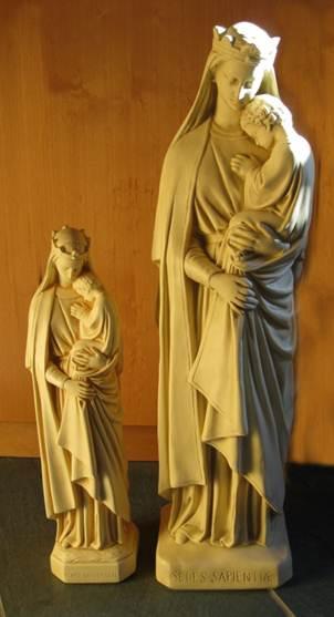 Sedes Sapientiae Statue