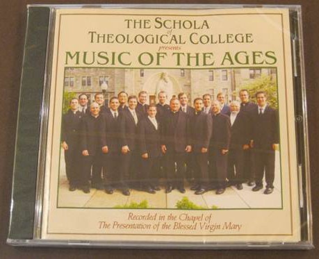 The Schola of Theological College
