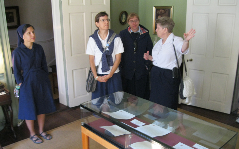 In the Mother Seton House