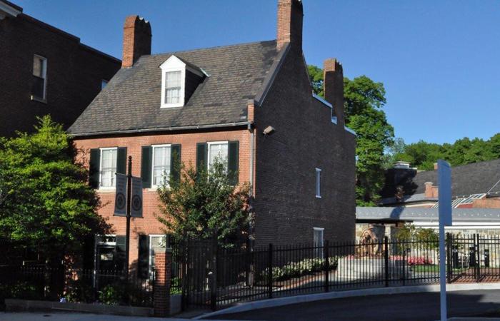 Mother Seton House on Paca Street