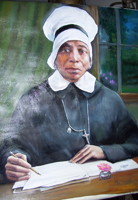 Mother Mary Lange, O.S.P., foundress and first superior of the Oblate Sisters of Providence.